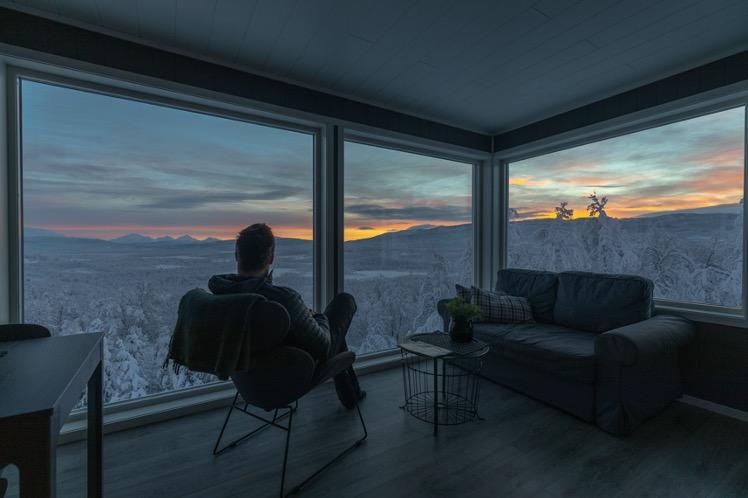 The observatory apartment view
