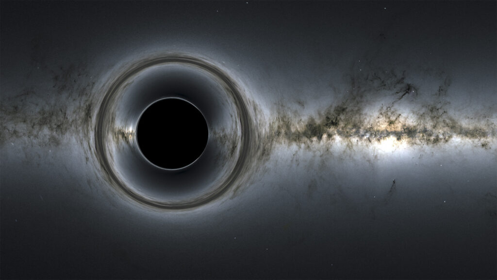 closest black hole
